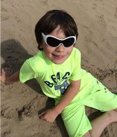 """Sonnenbrille Squid """"white-wash"""" - schwimmt sogar im Wasser....so cool!"""