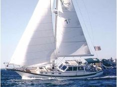 1990 Cabo Rico 38 Pilothouse Cutter Sail Boat For Sale - www.yachtworld.com