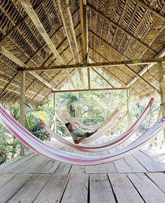 Huaorani Eco Lodge by Andrew Rowat