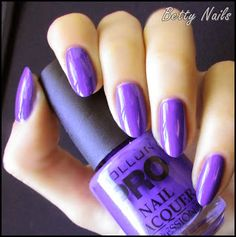 Betty Nails: Mollon Pro - Autumn Winter 2013 Collection - Review & Swatches - The Cremes