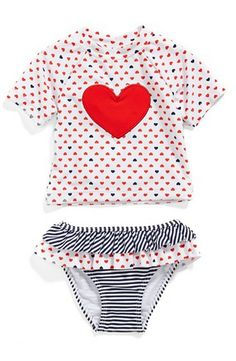 adorable 2-piece rashguard for baby girls  http://rstyle.me/n/vnkg6pdpe