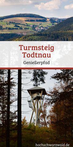 Den Schwarzwald genießen, mit seinen traumhaften Ausblicken und der unschlagbaren Natur. Auf dem Turmsteig gibt es einiges zu sehen.