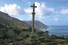 Cruceiro de la iglesia de San Andrés de Teixido - Cedeira - La Coruña