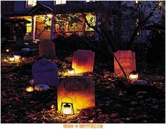 Scary Halloween Decoration Ideas For Outside (34 Yard Pics) - Snappy Pixels