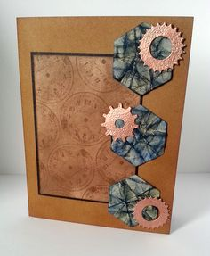 This week for Try Stampin on Tuesday we had this interesting sketch. The added theme was trio of textures so that is where I started with this card. I wanted to use three textures. I went with ton…