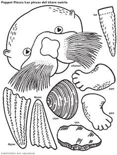 Sea Otter Lunch Bag Puppet