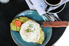 Dudley's 85 Orchard St Egg Toast, Avocado Toast, York, Breakfast, Eggs, Morning Coffee, Egg, Egg As Food