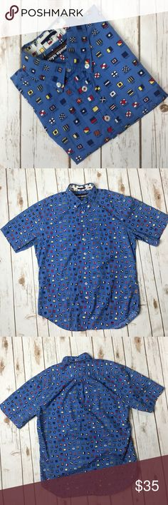 "Reyn Spooner Hawaiian Men's Shirt M No Flaws. Great condition. Armpit to Armpit 22"" Front Length 28"" Back length 28 1/2"" Reyn Spooner Shirts Casual Button Down Shirts"