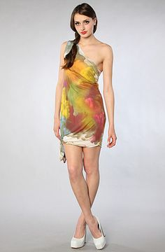 The Tany Dress in Cloud Print - Lyst