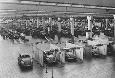 Fabricação do Fusca na Alemanha