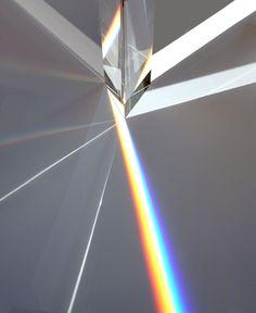 "A Japanese Design Master's Stunning ""Rainbow Church"" Sweet Jesus Crystal! A Japanese Design Master's Stunning ""Rainbow Church"" Light Reflection, Art Furniture, Japanese Design, Light Art, Color Theory, Light And Shadow, Installation Art, Art Installations, Light Colors"