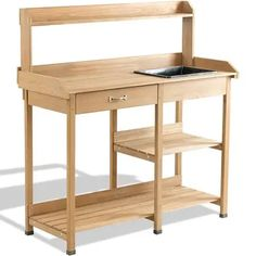 GARDEN POTTING BENCH WITH SINK FOR SALE - Google Search