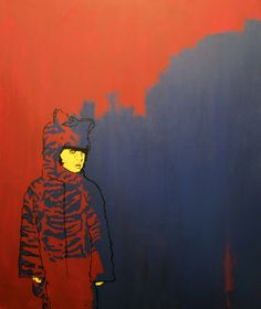 Painting by Harry O'Grady, via Behance