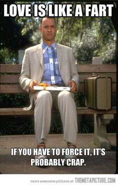 Forrest Gump gives the best love advice