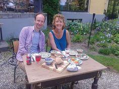 Dag 24: heerlijke dag met Hans! Eten bij Geb & Gaia