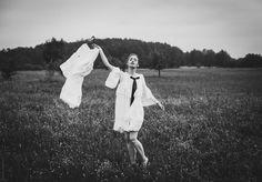Model: Weronika Kmieć; dresses: Dryło&Podisadlik photo: Dorota Górecka