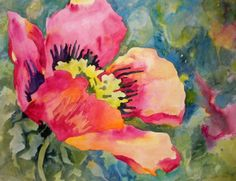 Poppified - the Art of Poppies, painting by artist Kay Smith