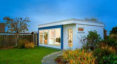 """HUMMEL - modernes Gartenhaus """"sucasa"""" https://www.hummel-blockhaus.de"""