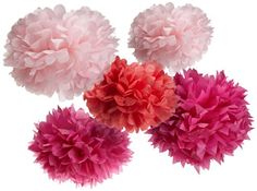 Martha Stewart Crafts Pom Poms, Pink, 2 Sizes Martha Stewart Crafts,http://www.amazon.com/dp/B0052UNQQI/ref=cm_sw_r_pi_dp_EF9xtb1Z7R23EKPN