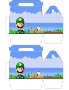 Luigi Gift Box ... free to use & free to share <3