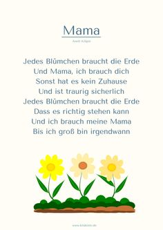"""""""Mama"""" Muttertag Gedicht Kita Kitakiste You are in the right place about Mothers Day Crafts for Kids Mothers Day Poems, Mothers Day Crafts For Kids, Mother Day Gifts, Fathers Day, Kindergarten Portfolio, Diy 2019, Diy Crafts To Do, Kids And Parenting, About Me Blog"""