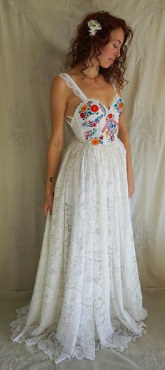 Flora Wedding Gown by Fable Dresses