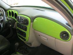 Pt Cruiser Dash center paint to match