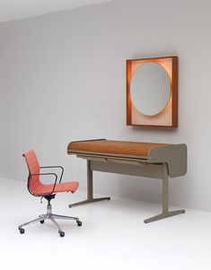 vintage action office desk by george nelson for herman miller 2 - George Nelson Herman Miller Schreibtisch