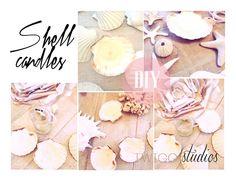 Shell Candles (Tutorial), Sea & Beach Craft