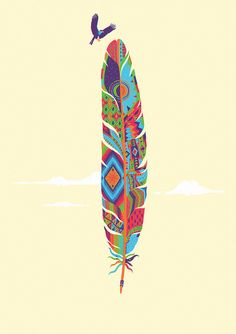 Feather Art ©PenaBranca