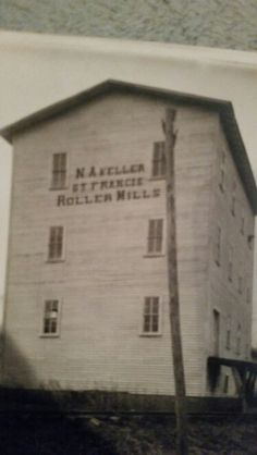 This is the flour mill and grainy of Norman Alexander Keller, father of Victoria Marie Keller Porter. He was born 7-11'1851 and died 03/1918, buried in Anna Cemetery, Anna, Il.