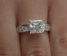 2 carat solitaire engagement rings - Google Search