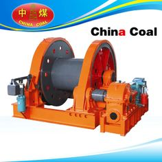 Product Introduction  JZ series sinking winches are used in coal mine, metal mine, non-metallic mine for hanging the swaying tray, water pump, air compressor, grouting tube, wind-cone and other excavation facilities, also can use for hanging heavy loads on surface and underground. mine winch with hydraulic thrust Failsafe brake for mine shaft lifting and pulling. variable speed , local contril and radio remote control..