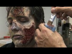 Zombie Make-Up Tips for Halloween: Inside The Walking Dead zombie makeup with things you can find at your local halloween or drug store Halloween Zombie, Zombie Prom, Halloween Face Makeup, Halloween Costumes, Zombie Life, Halloween Stuff, Halloween Ideas, Special Makeup, Special Effects Makeup