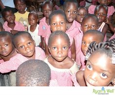 Children from Awatame Primary School in Togo. This holiday season, you can help provide clean water & sanitation to these adorable faces!