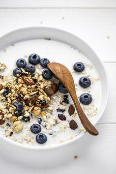 back to september: granola gluten free (per fare ordine in cucina)