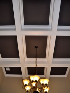 Dining Room Coffered Ceiling Design, Pictures, Remodel, Decor and Ideas - page 7