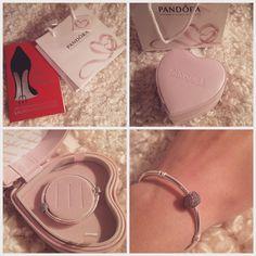 4) Get an awesome Pandora Valentine's gift from my dear.   #PANDORAvalentinescontest