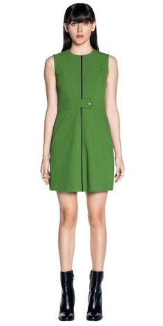 Dresses  | Double Weave A-Line Dress