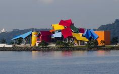 Biomuseo-Bridge of Life, Panama City, Panama http://www.vogue.fr/vogue-hommes/culture/diaporama/les-plus-belles-oeuvres-de-frank-gehry-s-exposent-a-paris/20683/image/1105113#!biomuseo-bridge-of-life-panama-city-panama
