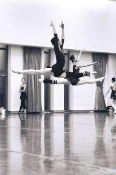 Korean ballet dancers