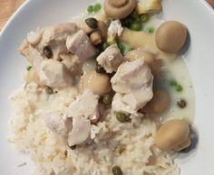 Rezept Hühnerfrikassee von esther.ziegler - Rezept der Kategorie Hauptgerichte mit Fleisch