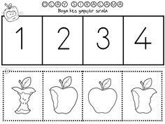 Sequencing Worksheets, Kindergarten Worksheets, School 2017, Pre School, Preschool Learning, Teaching, Nouns And Verbs, Olay, Creative Kids