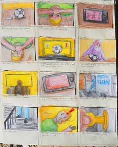 Page 5 of Trollie storyboards from sketchbook