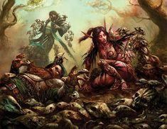 #wowtcg #warcraft #dwarf #nain #elfe #elf #human #humain