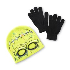 1d9a50b3c67 Athletech Boy s Graphic Ski Mask  amp  Gloves - Zombie Skiing