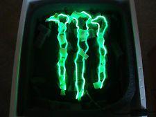 Monster Energy Drink Logo Neon Light Room Decor Man Cave New in Packaging Green