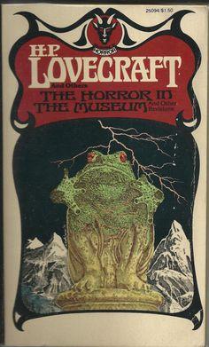 horror in the museum - lovecraft - ballantine books - 1976