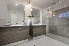 #masterensuite #ensuite #doublevanity #shower #pendant #bathroomstorage #bathroom