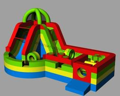 Commercial grade, inflatable bouncy castles. Inflatable Slide, Bouncy Castle, Indoor Playground, Castles, Commercial, Europe, Chateaus, Castle, Palaces